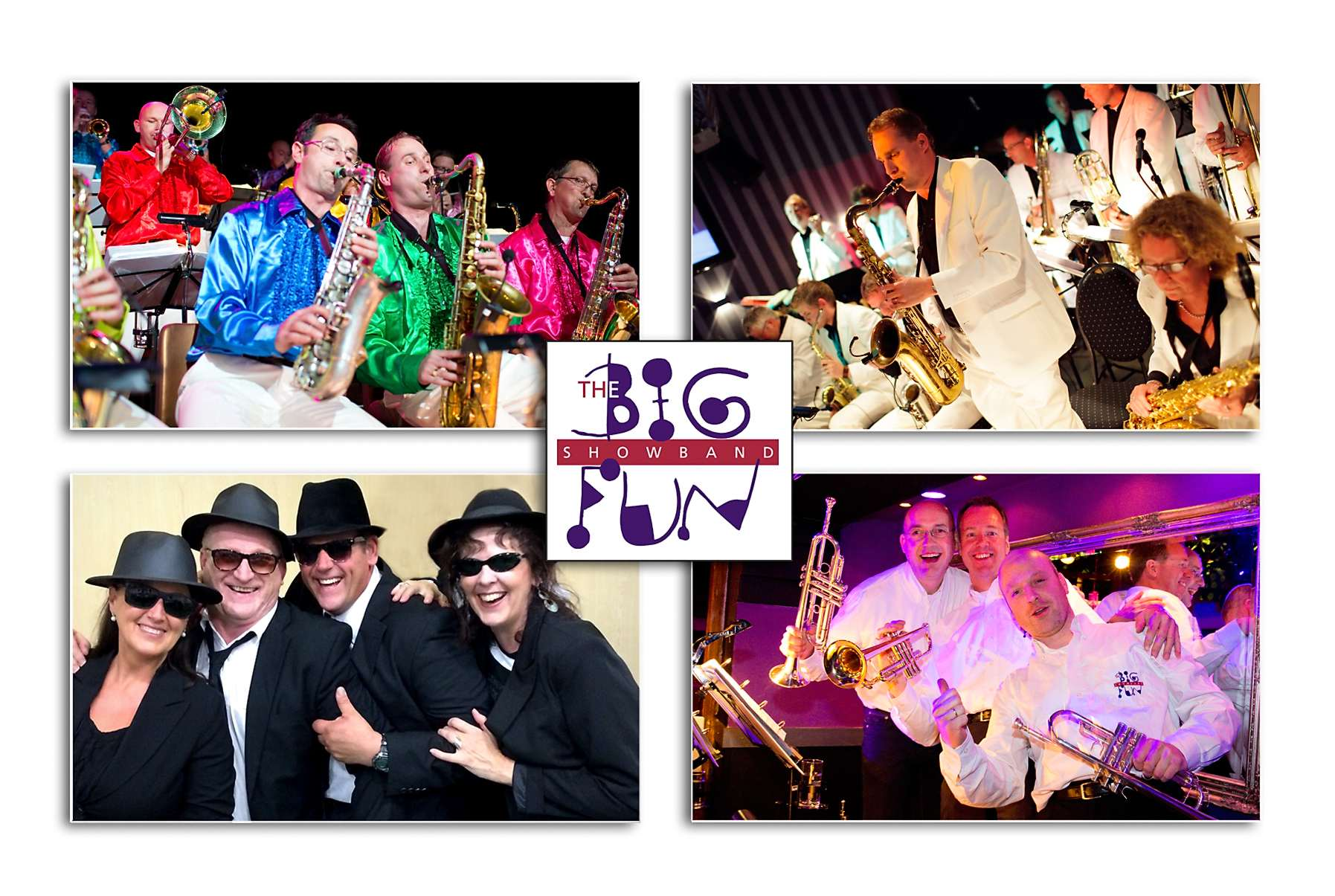 The Big Fun Showband in de Creatieve Fabriek